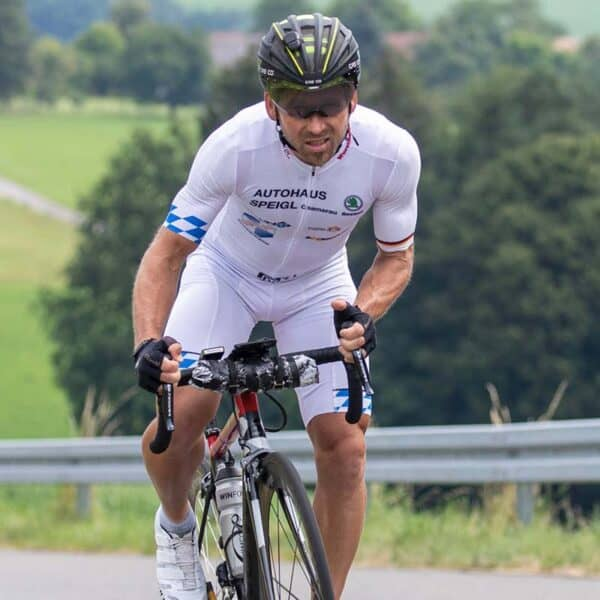 Ultra-Cycling Champ Rainer Steinberger